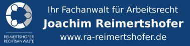 Rechtsanwalt Joachim F. Reimertshofer